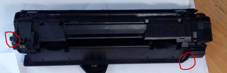 Как из картриджа HP CB435 (35A) сделать CE285 (85A)