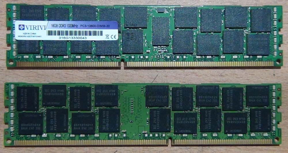 Серверная оперативная память ECC Reg. Как она выглядит?