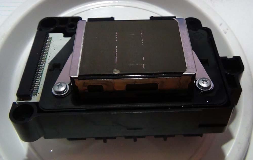 Дефекты на подошве ПГ Epson RX 700