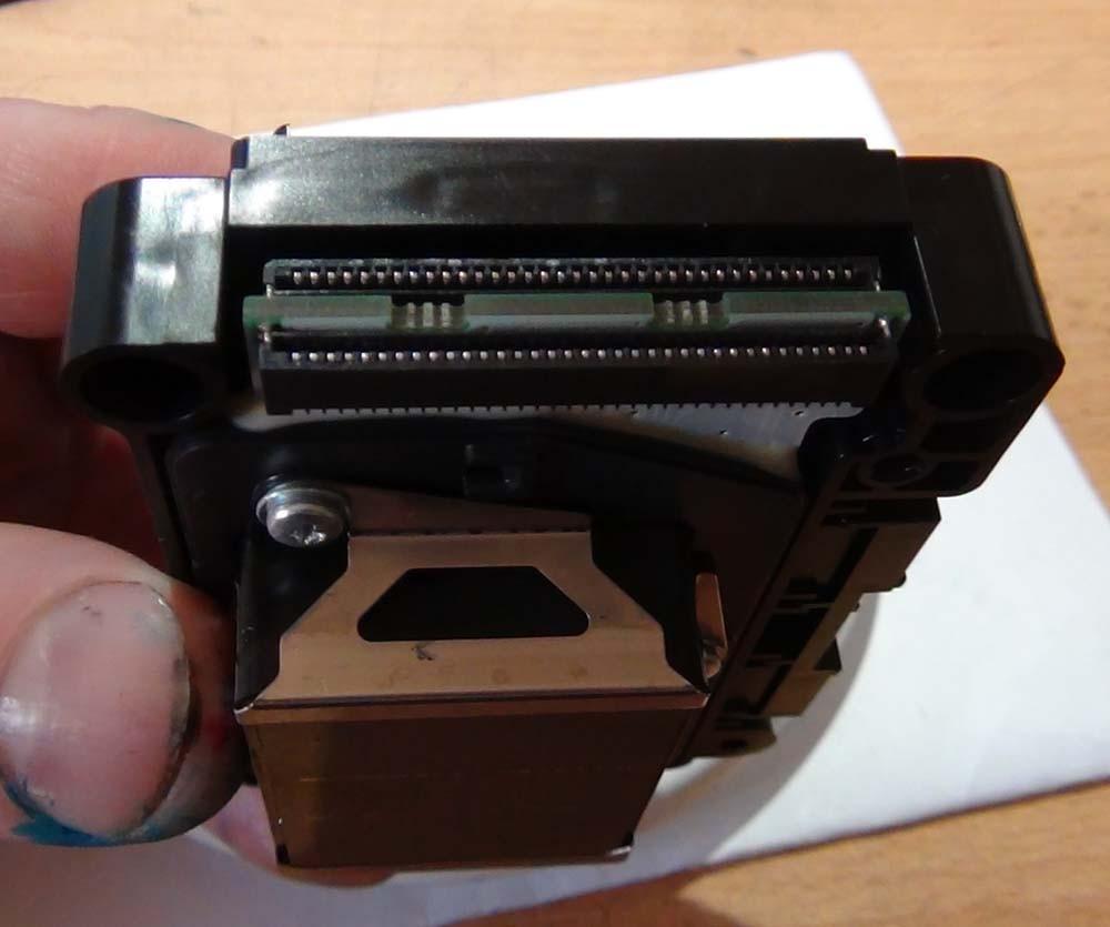 Разъемы шлейфов ПГ Epson RX700