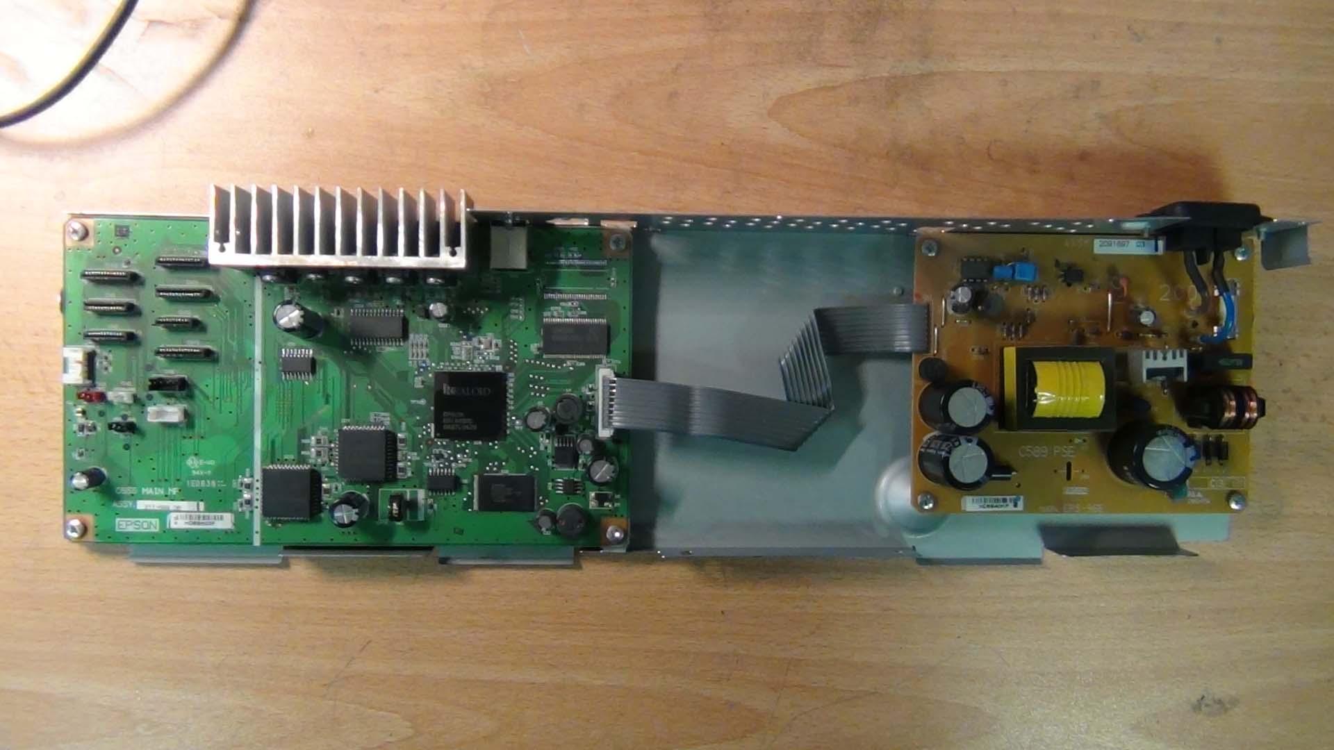 Ремонт форматтера Epson 1410