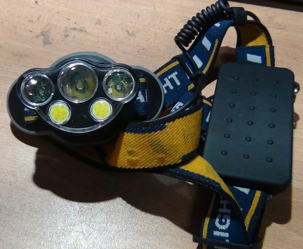 Внешний вид фонаря NL MX-KC06-T6