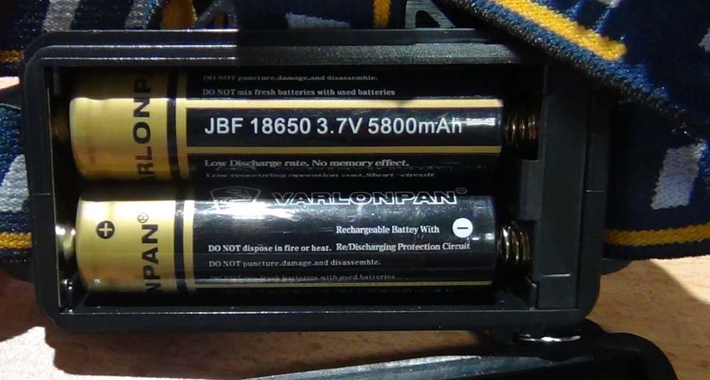 Аккумуляторы фонаря NL MX-KC06-T6