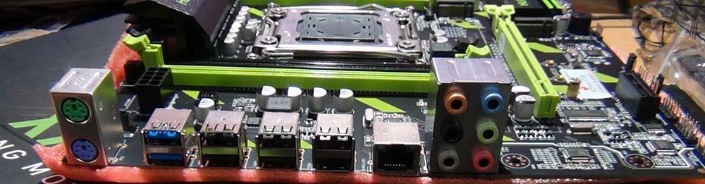 USB порты Huananzhi X79-ZD3