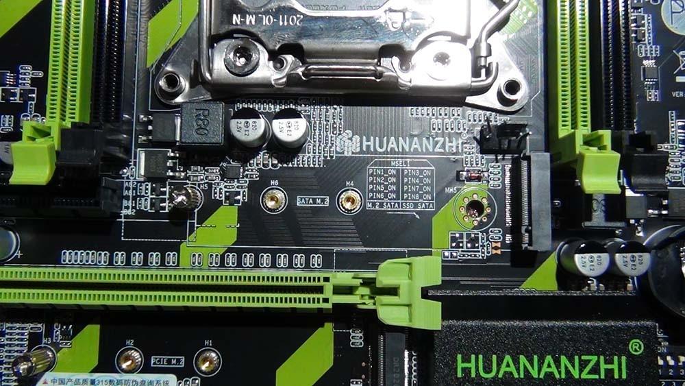 Гнездо SATA M.2 Huananzhi X79-ZD3