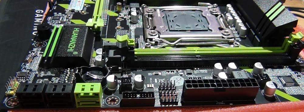 Порты SATA 3 Huananzhi X79-ZD3