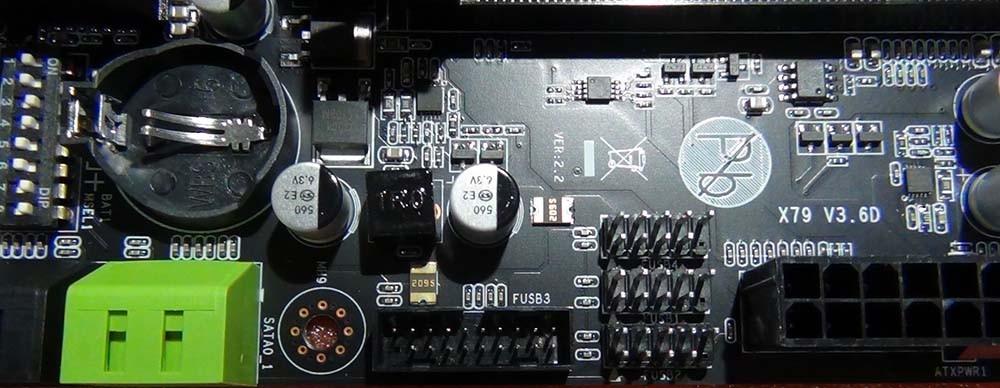 Гнездо подключения USB 3.0 Front Panel Huananzhi X79-ZD3