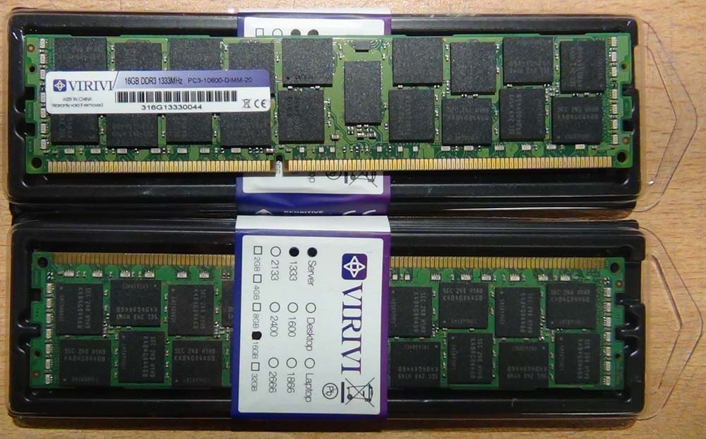 Память DDR3 ECC Reg