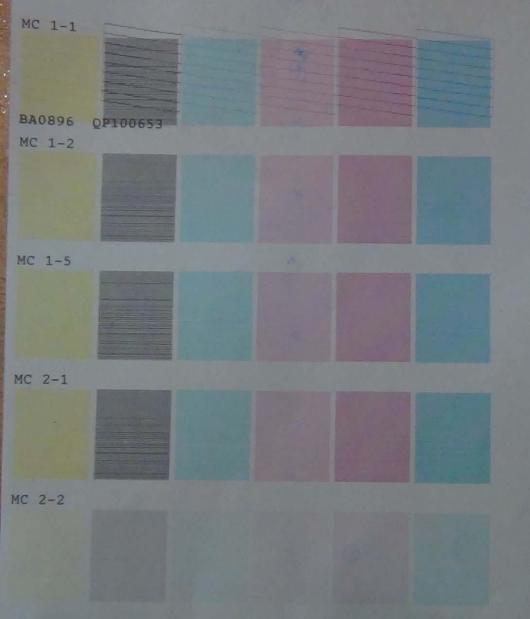 Косоструй. Тест режимов печати