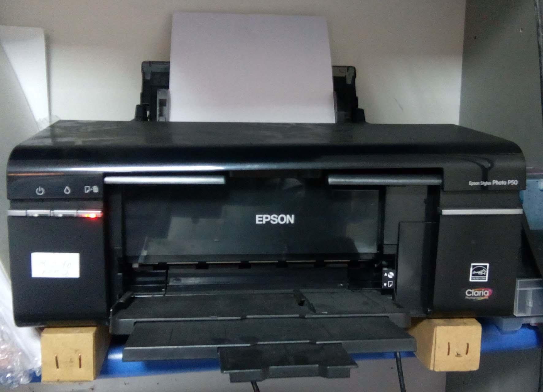 Струйный принтер перестал брать бумагу. Что делать?