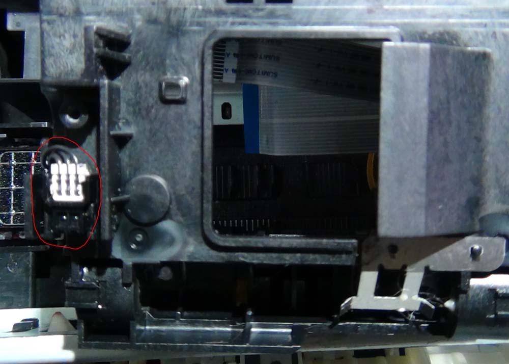 PW-Sensor Epson на каретке
