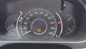 Сброс индикатора давления в шинах Honda CR-V 2012 - 2105 года выпуска