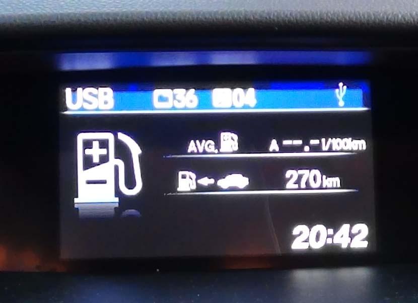 Экран Honda CR-V