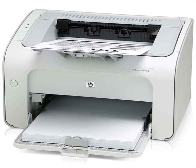 HP LJ p1005 не включается
