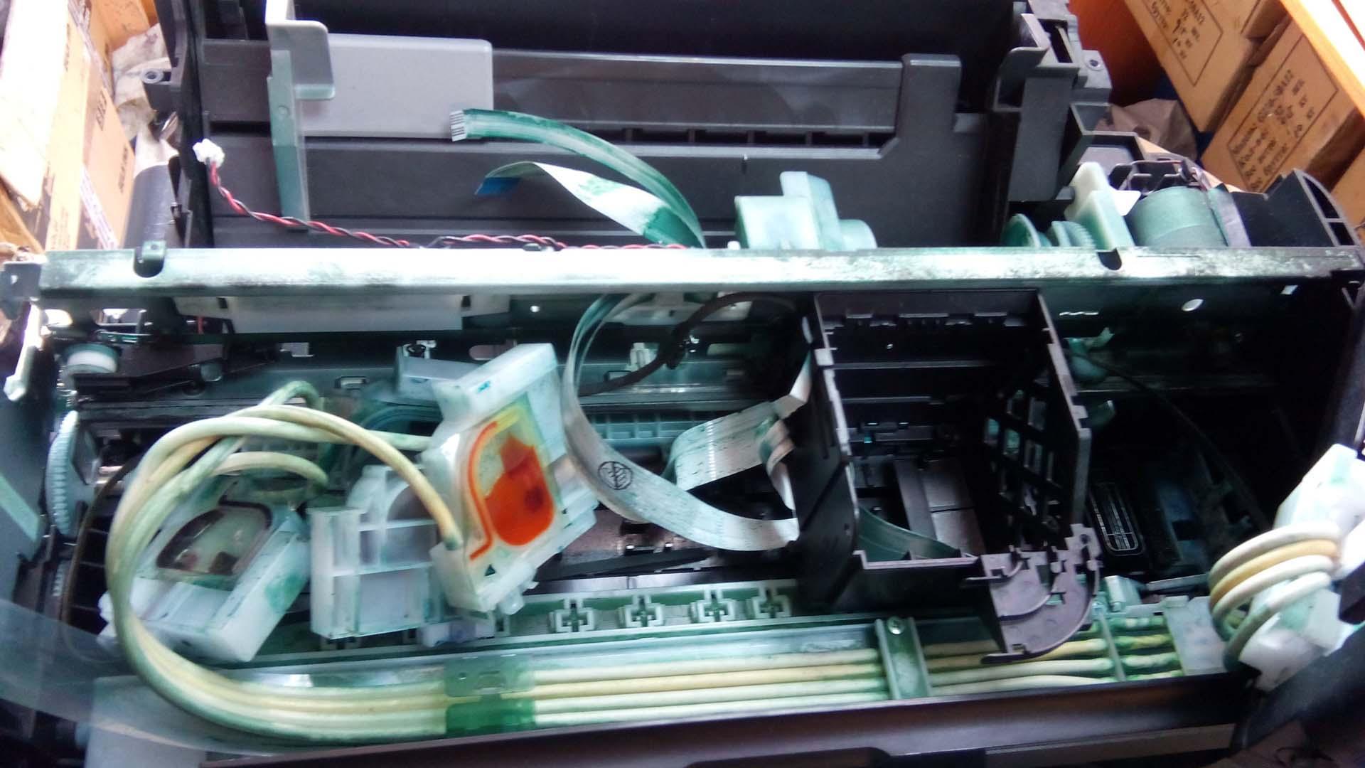 Принтер с помойки? Что нужно сделать, если вам принесли такой принтер
