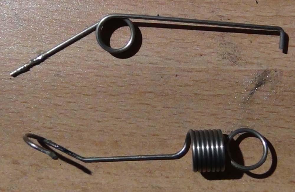 Натяжители (пружинки) вала каретки Epson