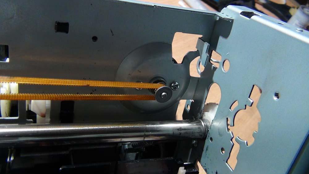 Двигатель привода каретки Epson