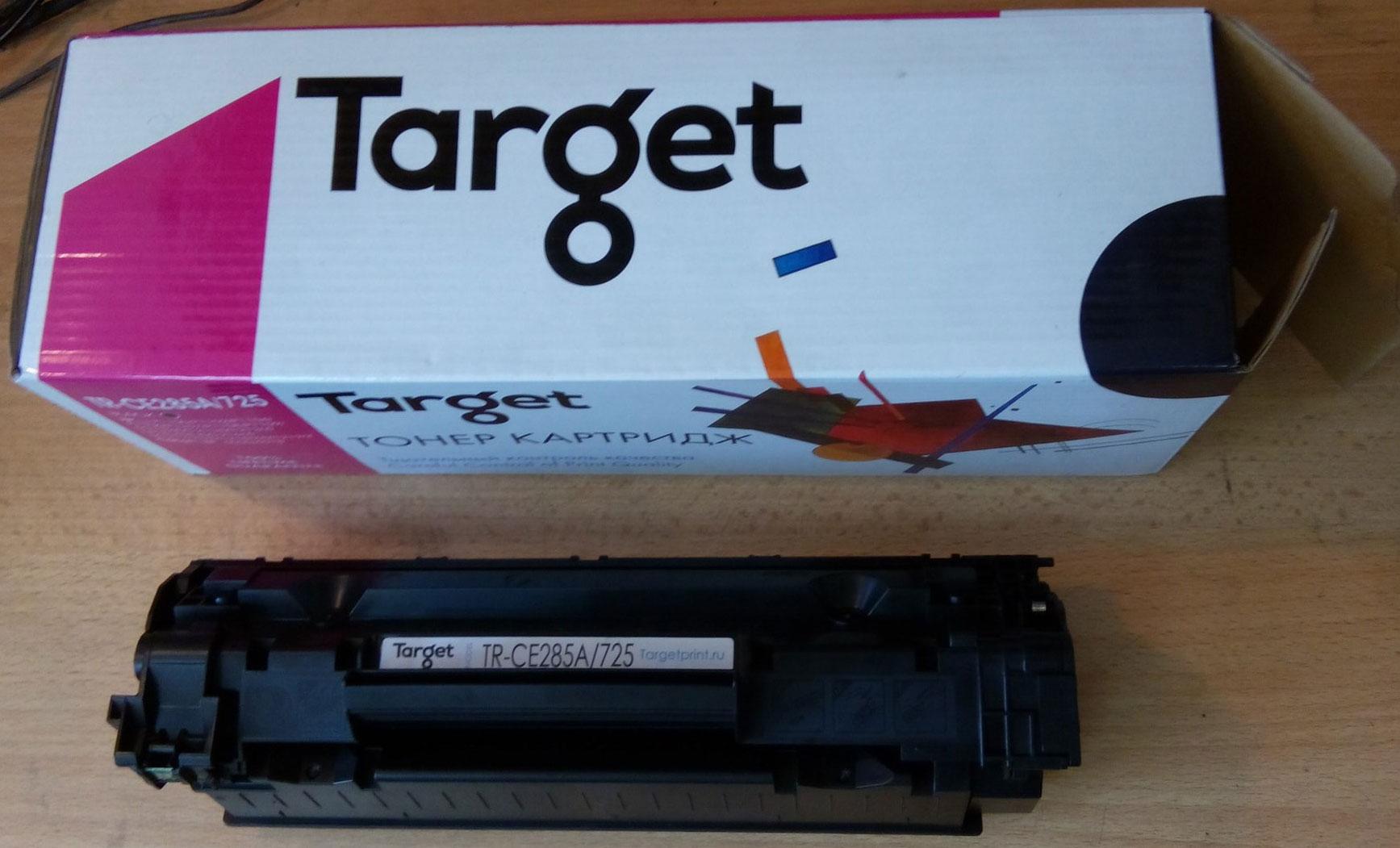 Тест совместимого универсального картриджа Target HP CB435A CB436A CE285A
