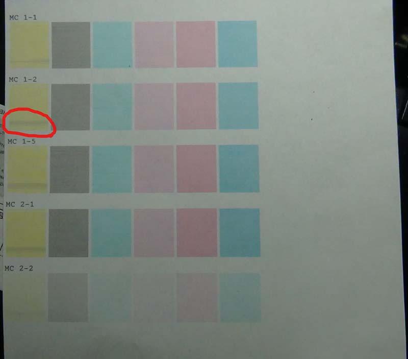 Тест режимов печати 2