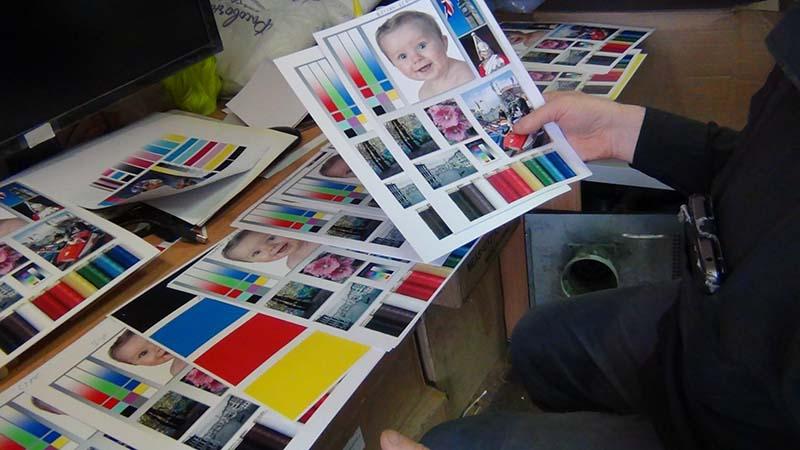 Тесты фотобумаг