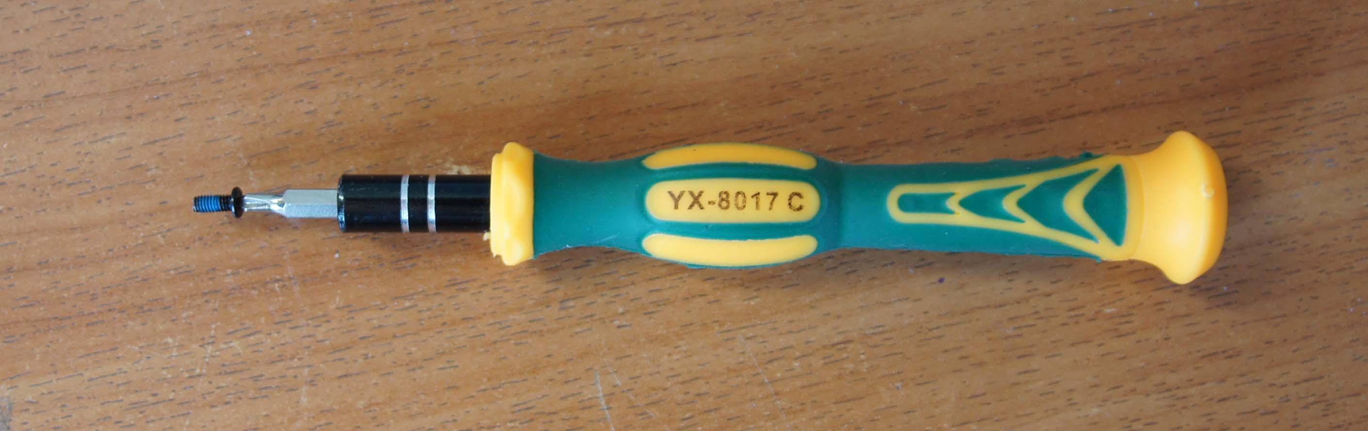 Набор отверток Yaxun Y-8017