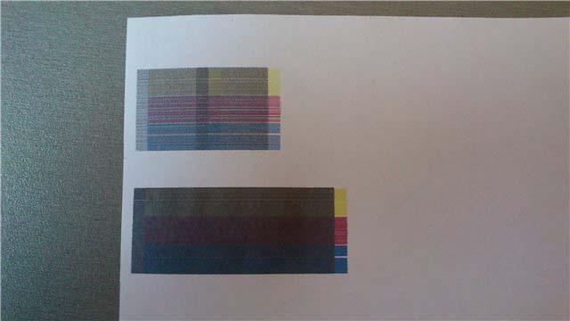 Изображение при печати закрашено. Как починить